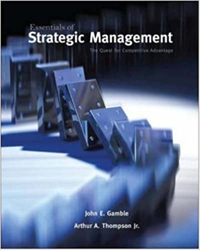 Amazon essentials of strategic management the quest for essentials of strategic management the quest for competitive advantage 1st edition fandeluxe Gallery