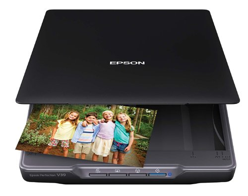 Color Photo & Document Scanner with scan-to-Cloud & 4800 Optical Resolution ()