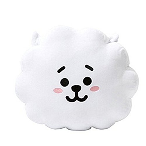 BTS BT21 Bangtan Boys Members Creative Cartoon Characters Pillow Doll Plush (rj, 3040cm) (Pillow China Doll)