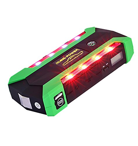 QINUO Car Jump Starter 600A Peak Car Battery Power Pack 12V Auto Charger Portable Starting Device by QINUO