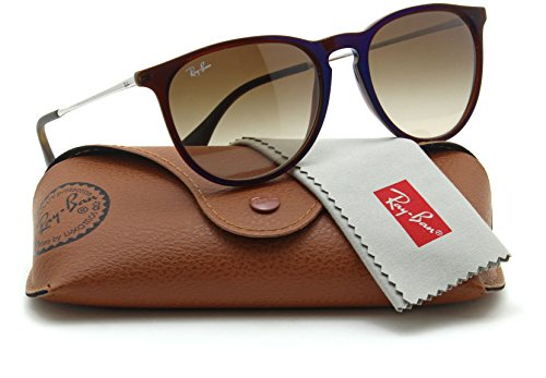 Ray-Ban RB4171 ERIKA CLASSIC Womens Brown Gradient Sunglasses - Brown Ban Erika Ray