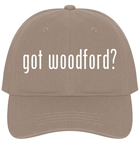 The Town Butler got Woodford? - A Nice Comfortable Adjustable Dad Hat Cap, Khaki ()