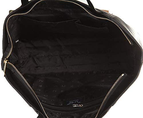 Sabbia Detachable Clutch Jeans Shopper Nero Bag Armani qBa1gOgwz