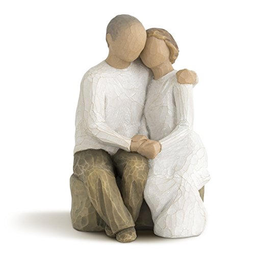 Willow Tree Anniversary, sculpted hand-painted figure (15th Wedding Anniversary Gift Ideas For Him)