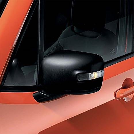 Par de tapacubos espejos negro mate originales Jeep Renegade: Amazon.es: Coche y moto