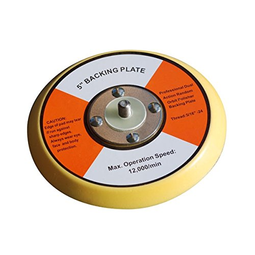 Shurhold Dual Action Polisher 5' PU Backing Plate 3130