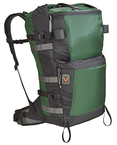 VenTerra Men's Bivy 35 Hiking Backpack, Forest, Large
