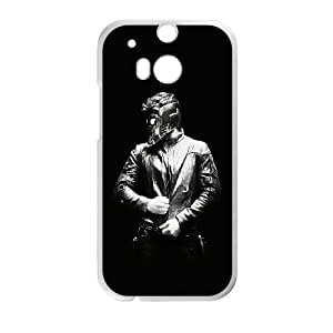HTC One M8 Cell Phone Case White ac53 guardians of the galaxy film dark JNR2021119