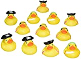 2 Inch Pirate Rubber Ducks 12 Pcs Per Order Novelty