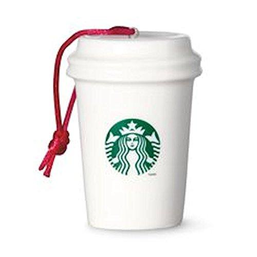 Amazon.com: Starbucks Paper Cup Ornament - Logo (011042116): Home ...