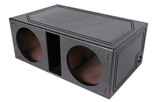 (Atrend SPL-10DV Atrend Series 10-Inch Dual Vented Super Bass SPL Enclosure with Bed Liner Finish)
