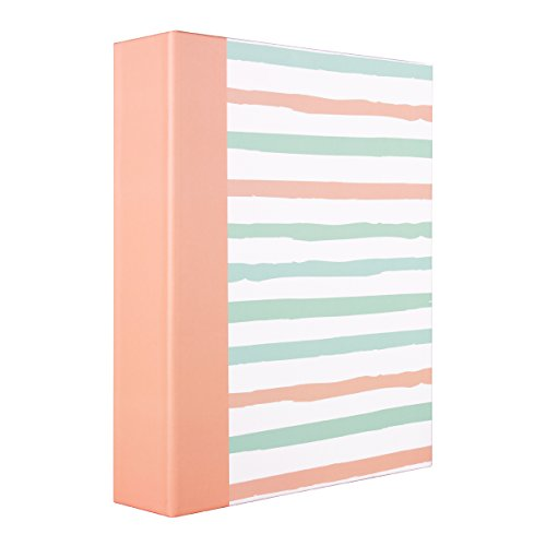 Le Memo Album - ERBAO Memo Photo Album 4x6 200 Photos, Fashion Stripes Design
