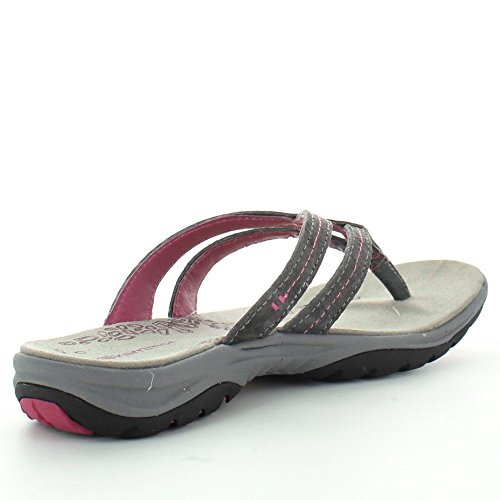 Karrimor Womens/Ladies Tahiti Pigskin Leather Vibram Sandals Brown F7fqdSF