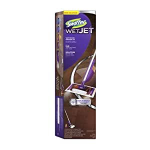 Amazon Com Swiffer Wetjet Wood Starter Kit Health