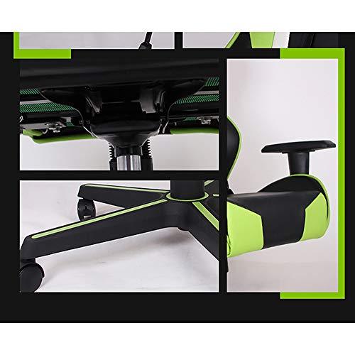 Stolar, kontorsstolar, fåtöljer, justerbar liggande 3D roterande lyft fåtölj E-sport spelstol, kontor datorstol ergonomisk hem racerstol