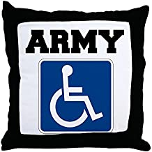 """CafePress - Army Handicapped Disabled - Decor Throw Pillow (18""""x18"""")"""