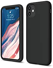 elago iPhone 11 Silicone Case |Black| - Premium Liquid Silicone, Raised Lip (Screen & Camera Protection), 3 Layer Structure, Full Body Protection, Flexible Bottom