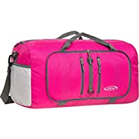 G4Free Foldable Travel Duffle Bag Lightweight 22 Inch Luggage Tote Bag for Sports, Gym,Swimming