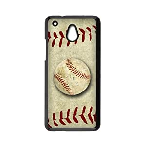 HTC One Mini Case,Vintage Baseball & Retro Baseball Surface High Definition Wonderful Design Cover With Hign Quality Hard Plastic Protection Case
