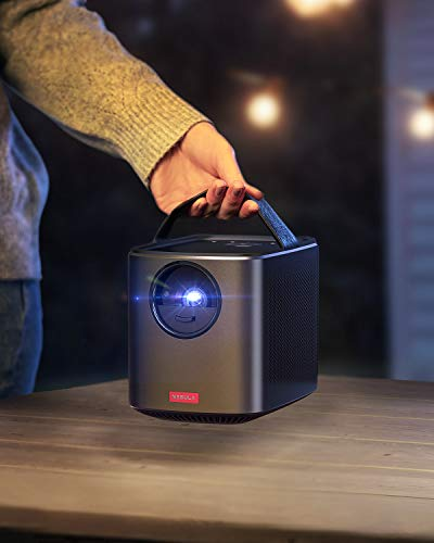 Nebula by Anker Mars II Pro 500 ANSI Lumen Portable Projector, Black, 720p Image, Video Projector, 40 to 100 Inch Image…