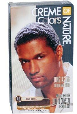 Creme of Nature Hair dye Color Rich Black 4.0