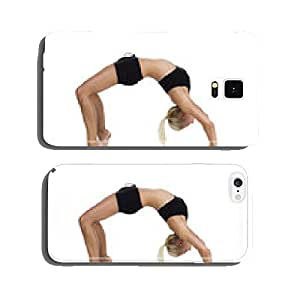 Sporty woman doing a bridge cell phone cover case iPhone6 Plus