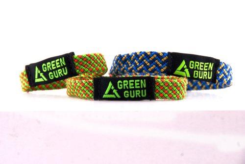 Green Guru Gear Climbing Rope Upcycled Made in USA Bracelet