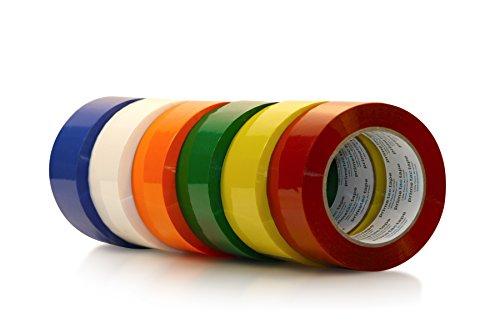 [해외]Primetac 419 2x1000 WH White Acrylic Carton Sealing Tape 2.0 mil Thickness 914 m Length 48 mm Width (Pack of 6 Rolls) / Primetac 419 2x1000 WH White Acrylic Carton Sealing Tape, 2.0 mil Thickness, 914 m Length, 48 mm Width (Pack of...
