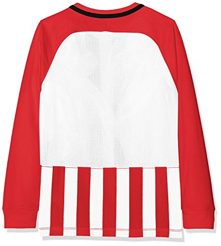 Unisex Long Division White Top University Black Sleeve Striped III Black Red Youth Nike d6wXFxx