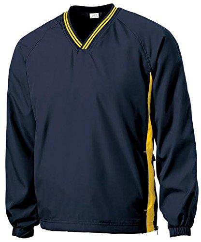 Joe's USA(tm - Men's Athletic All Sport V-Neck Raglan Wind Shirts in L -