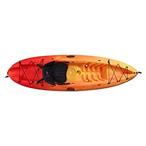 Ocean Kayak Agitation Sit-On-Top Recreational Kayak, Sunrise