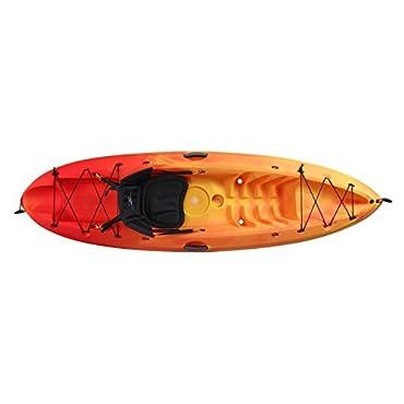 Ocean Kayak Frenzy Sit-On-Top Recreational Kayak, Sunrise