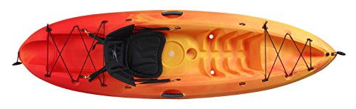 Ocean Kayak Frenzy Sit-On-Top Recreational Kayak, Sunrise