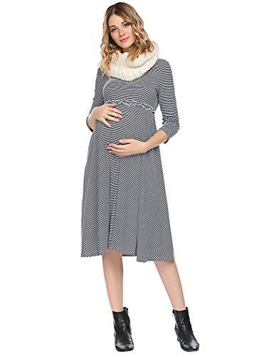 3 4 Length Sleeve Dresses - 3