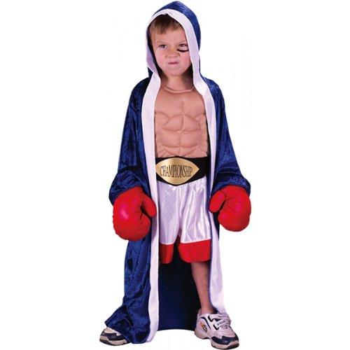 Boxer Girl Costumes (Li'l Champ Toddler Costume - Toddler Large)