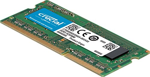 Review Crucial 4GB Single DDR3/DDR3L 1600 MT/S (PC3-12800) Unbuffered SODIMM 204-Pin Memory – CT51264BF160B
