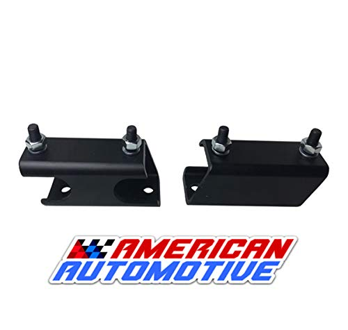 American Automotive 2011-2018 Ford F250 F350 Super Duty 4WD Sway Bar Drop Bracket Kit for 2-4