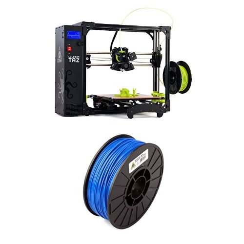 LulzBot-TAZ-6-3D-Printer-with-ABS-3D-Printer-Filament-3-mm-Diameter-286-kg-Spool-Blue