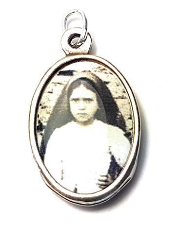 3rd Class relic Medal Saint Jacinta Marto Patron Bodily ills Portuguese Children Captives People ridiculed for Their Piety Prisoners Sick People Against Sickness Fatima Portugal Blessed Virgin