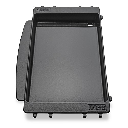 Weber Gas Grill Accessories - Weber 7658 Grill Griddle, Black
