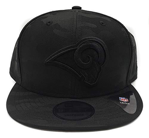 New Era Blackout Camo Play 9FIFTY Adjustable Snapback Hat (Los Angeles Rams)