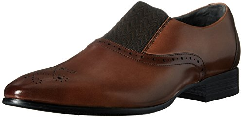 Stacy Adams Men's Valerian-Plain Toe Slip-on Loafer Scotch poI3r