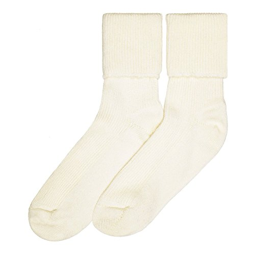 - Ladies Cashmere Socks, White
