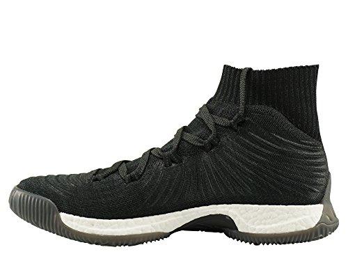 adidas Crazy Explosive 2017 Primeknit, Scarpe da Basket Uomo Nero (Negbás / Carbon / Ftwbla 000)