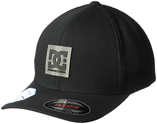 - DC Men's MESHER Trucker, Black, 1SZ