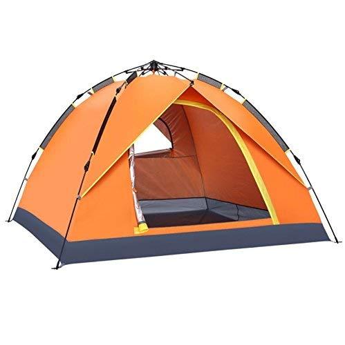GZZ Outdoor Guo Outdoor GZZ Produkte Outdoor 3-4 Personen Vollautomatische Oxford Sonnencreme Zelte, 1 Zimmer, Familie Portable Camping Zelte e2447c
