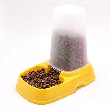 Fairy Season alimentador automático de mascotas perro gato dispensador de agua plato cuenco Color al azar