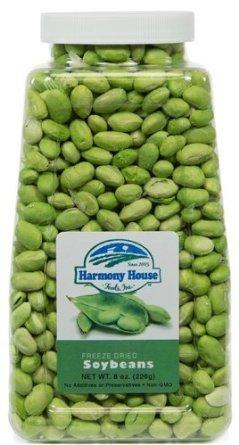 Harmony House Foods Freeze Dried Soybeans (8 oz) - Single
