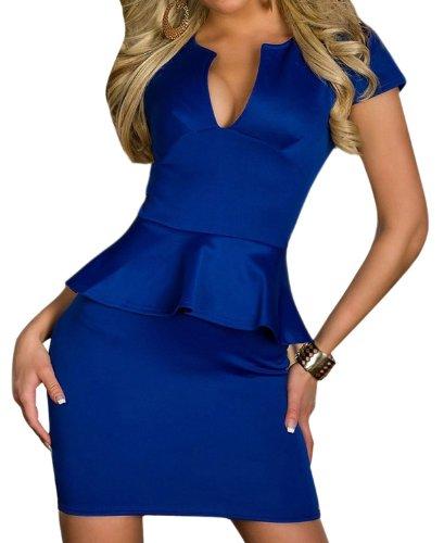 Pinkyee PKY1509150772 - Vestido para mujer 138855-Blue
