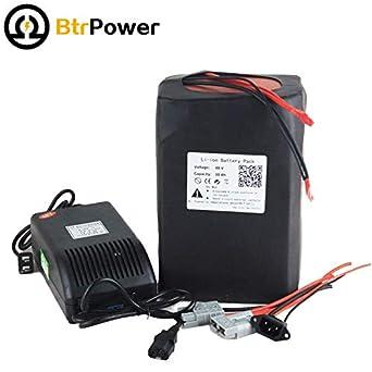 48 V 30 Ah Batería de litio pack para moto bicicleta eléctrica ...